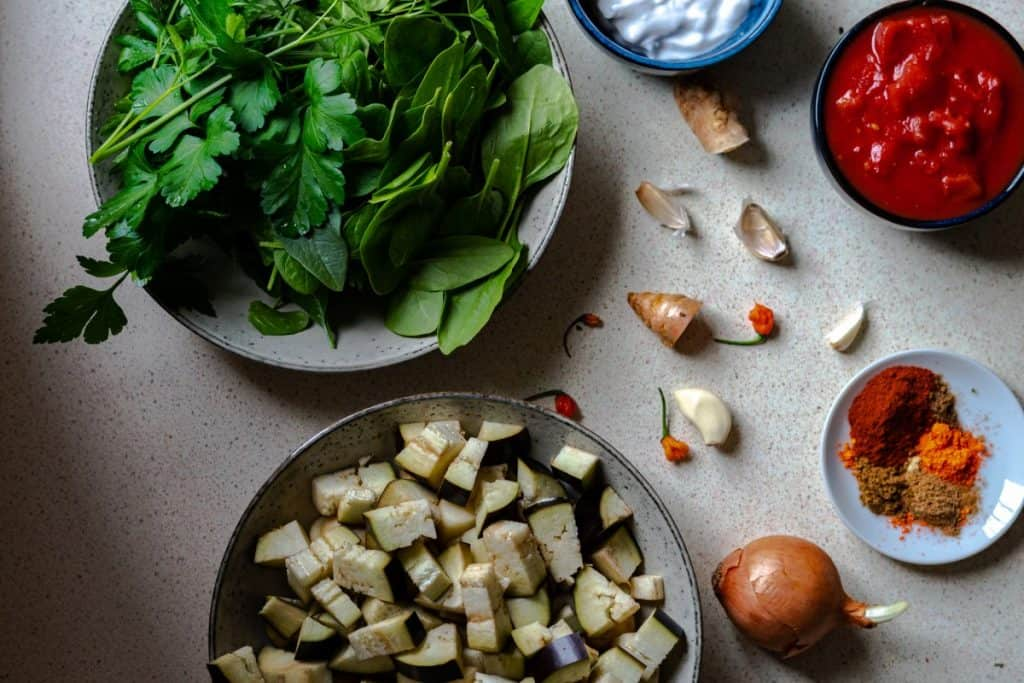 curry ingredients