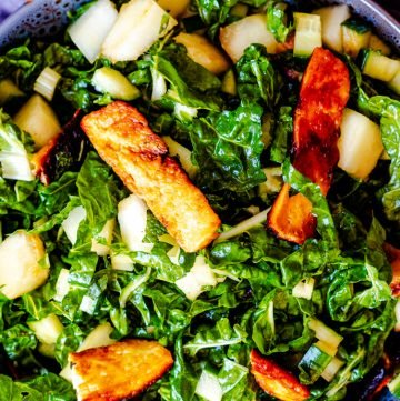 Melon and Halloumi Salad
