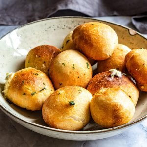 garlic cheese dough balls