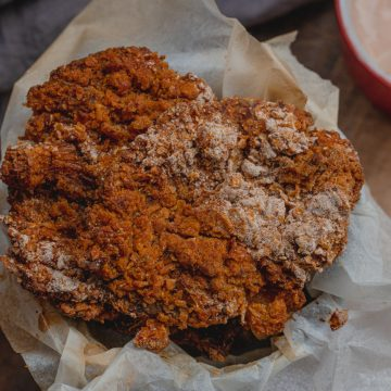 sir fried oyster muhrooms